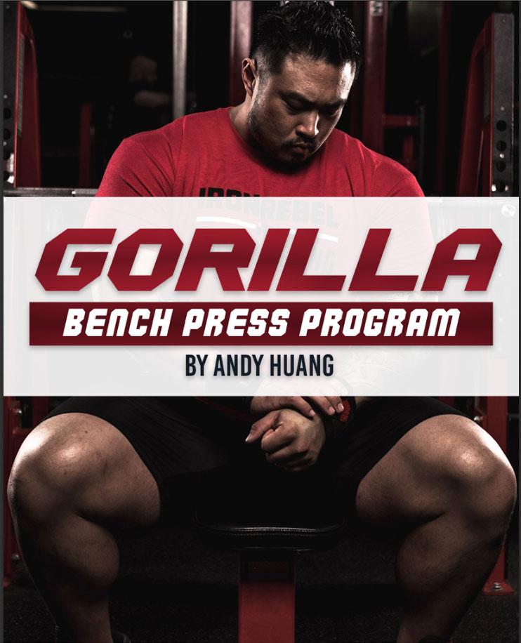Gorilla Bench Program Panda Power Training